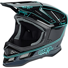 ONeal Blade casco per bici, charger black/teal